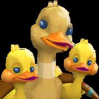 Portrait duckling