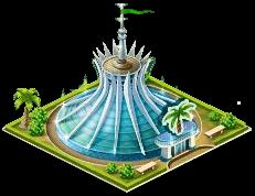 Brazilian tourist center