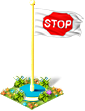 Flag stop