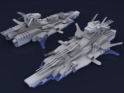 EotRS Aerial Battleship Musashi (Naval Mode)