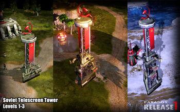 SU Telescreen Tower