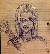 Jason pen sketch