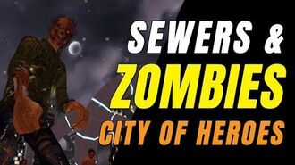 CITY OF HEROES Homecoming! CAP Fought Zombies & Saved Alex Carter!