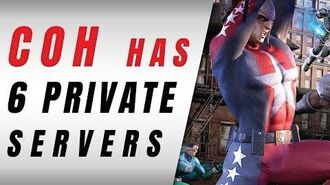 City Of Heroes, Now Has 6 Private Servers!