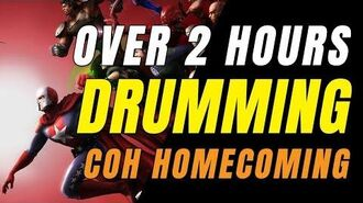 CITY OF HEROES (Homecoming Server) Over 2 Hours Drumming