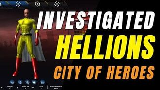 CITY OF HEROES (HOMECOMING Server) One Punch Man, Hellion Investigation!