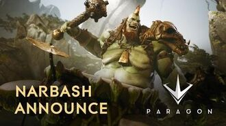 Paragon - Narbash Announce Trailer
