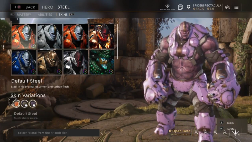 Steel Lavender Default skin