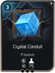 Crystal Conduit card