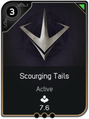 Scourging Tails card