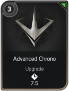 Advanced Chrono