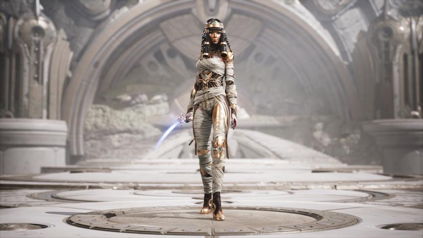 Yin Crypt Goddess skin