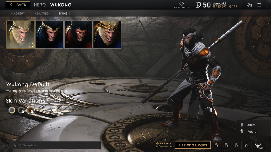 Wukong Topaz Default skin