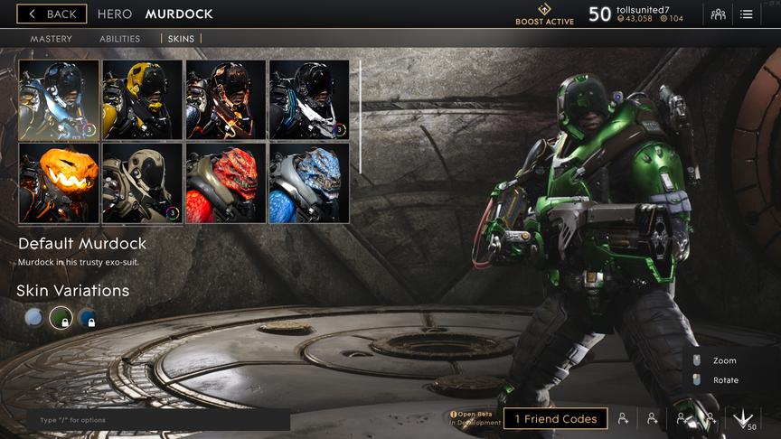 Murdock Green Default skin