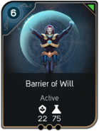 Barrier of Will