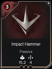 Impact Hammer card