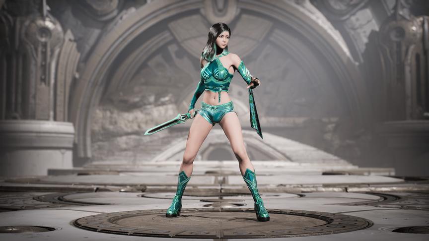 Shinbi Jade skin