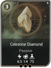 Celestine Diamond card