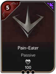 Pain-Eater card