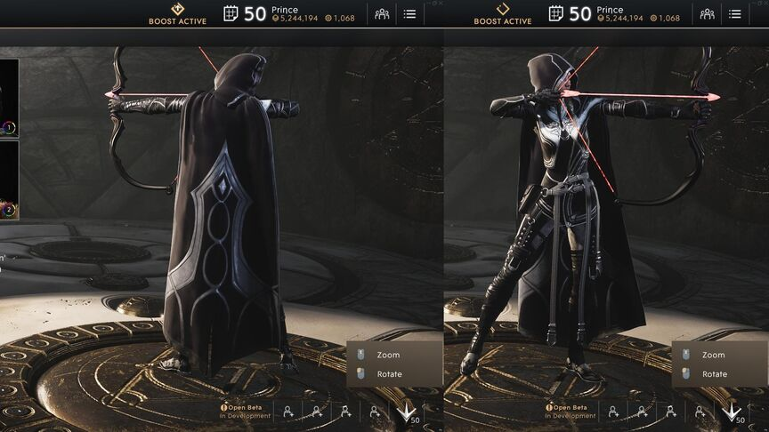 Sparrow Onyx Royal Garb Rogue skin
