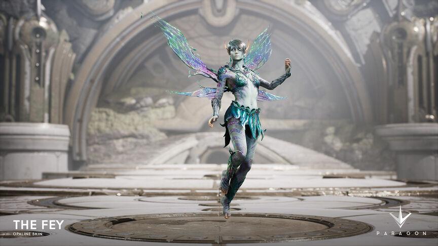 The Fey Opaline skin