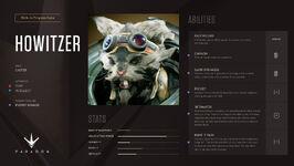 Howitzer stats2