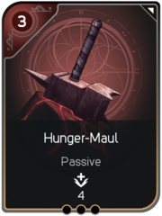 Hunger-Maul card
