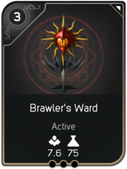 Brawler's Ward card