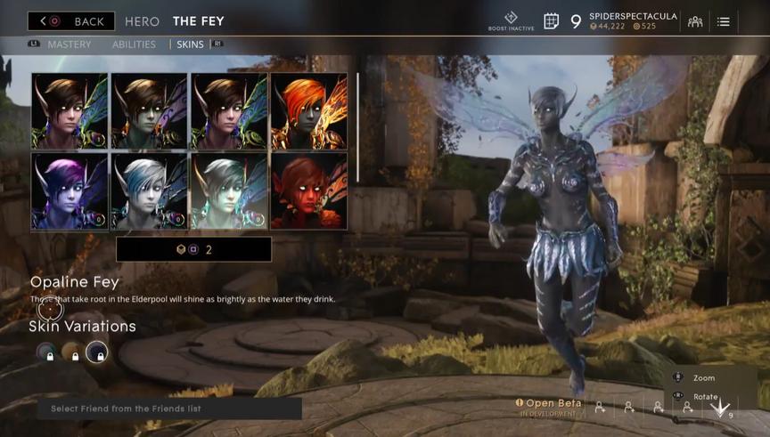 The Fey Onyx Opaline skin
