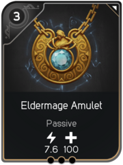 Eldermage Amulet card