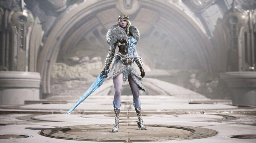 Aurora Frozen Heart skin
