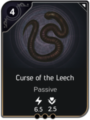 Curse of the Leech card