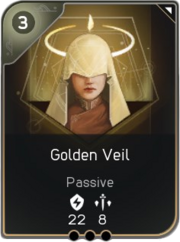 Golden Veil card