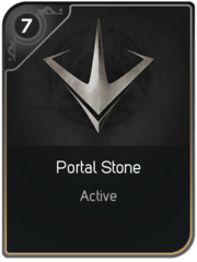 Portal Stone card