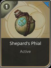 Shepherd's Phial card