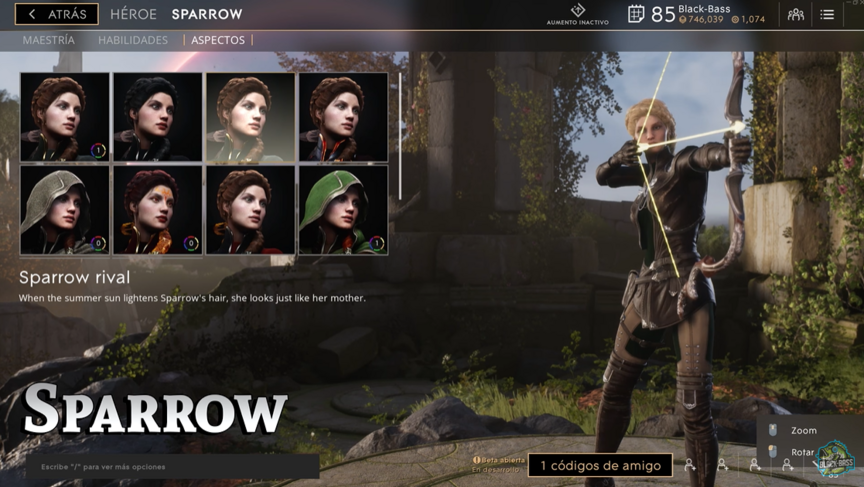 Sparrow Rival skin