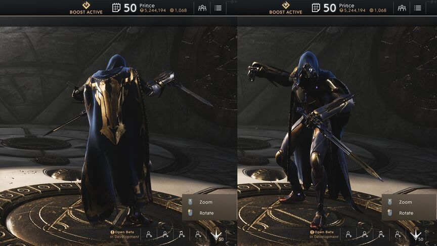Kallari Cobalt Monastic Rogue skin