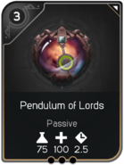 Pendulum of Lords