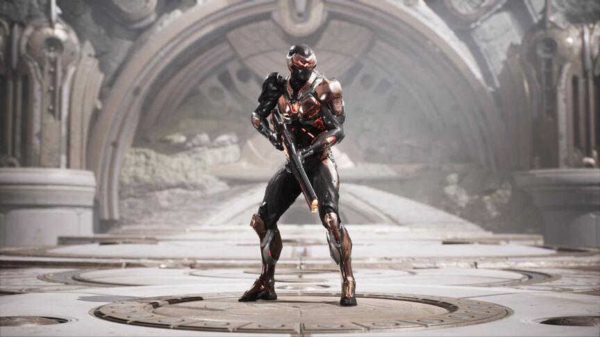 Wraith Master skin