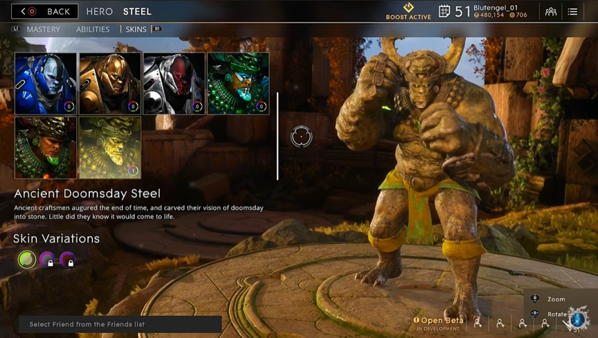 Steel Ancient Doomsday skin