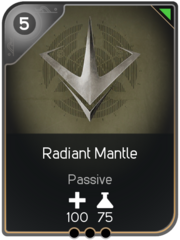 Radiant Mantle card