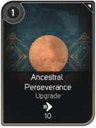 Ancestral Perseverance