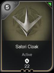 Satori Cloak card