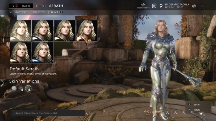 Serath Jade Default skin