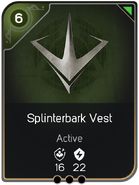 Splinterbark Vest