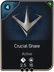 Crucial Snare card