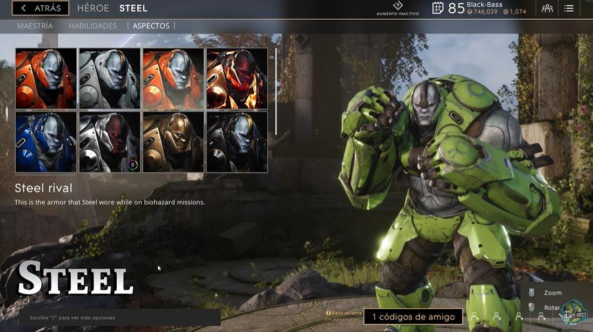 Steel Rival skin