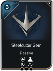 Steelcutter Gem card