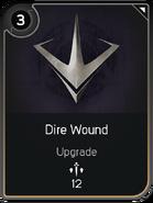 Dire Wound