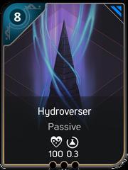Hydroverser card